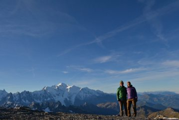 On the summit of Mont Buet