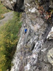 Lower Falcon, Borrowdale - 2nd pitch of Illusion.