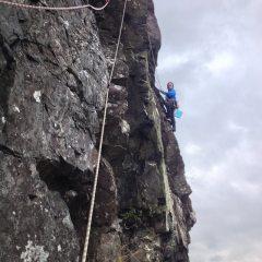 Lower Falcon Crag, Borrowdale - Spinup