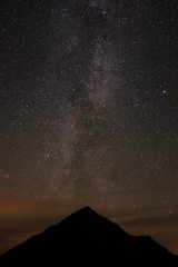 Milky Way above the Buachaille
