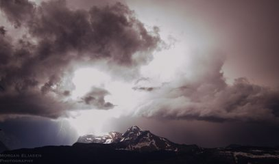 Lightning Strikes Heaven's Peak