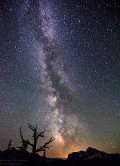 The Night Sky over Heaven's Peak