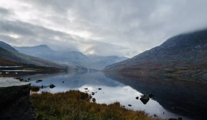 Another Dry Day in Snowdonia // Lake Ogwen