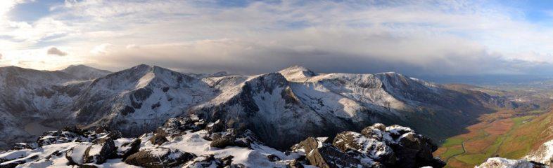 Winter is starting in Snowdonia