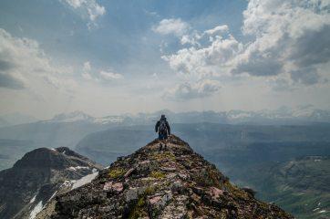 Summiting a Smokey Ahern Peak // Glacier Park, MT