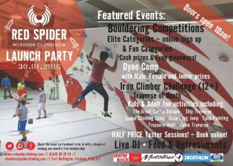 Red Spider - launch party 30 Jan, Lectures, market research, commercial notices Premier Post, 1 weeks @ GBP 25pw