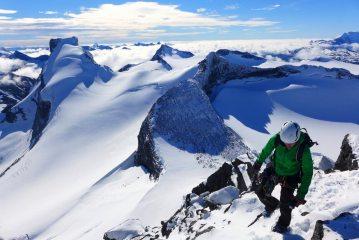 On the summit of Sokse in Jotunheimen