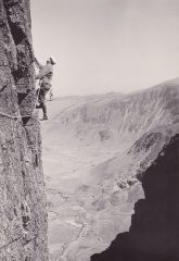 FA Girdle Lower Amphitheatre Wall Craig yr Ysfa1966