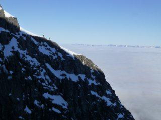 Alpine day on Tower Ridge
