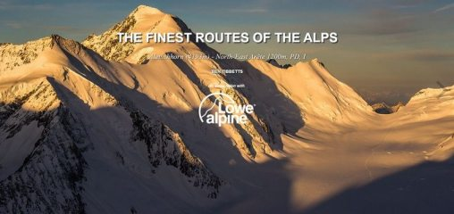 DIGITAL FEATURE: The Finest Routes in the Alps: Aletschhorn
