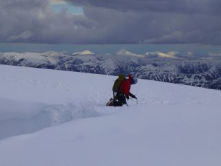 Abbing into Tower Gully