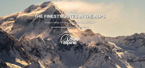DIGITAL FEATURE: The Finest Routes in the Alps: Grand Combin