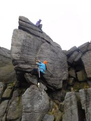 First crutches ascent of Right Fin HVS 5a?