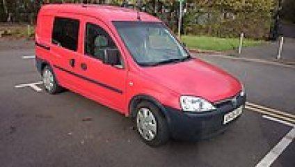 Premier Post: FS: Vauxhall Combo 1.3 crew van/ day van