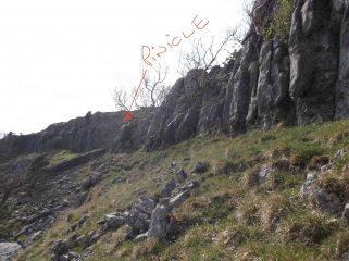 Twistleton Scar Cairn buttress