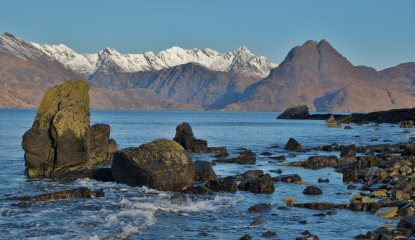 The Cuillin from Elgol, 152 kb