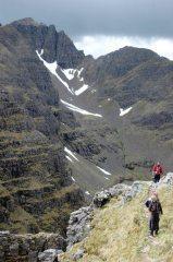 Liathach Am Fasarinen Pinnacles, 160 kb
