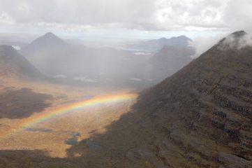 Beinn Eighe Sail Mhor Rainbow, 179 kb