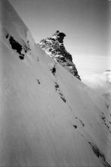 Nickinscottishmountains on the Plateau du Couloir traverse above the Valsorey Hut