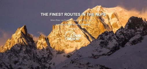 DIGITAL FEATURE: The Finest Routes in the Alps: Mont Blanc