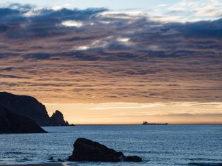 Sunset at Kearvaig Bothy, Cape Wrath, Sutherland