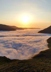 Cloud inversion over Loch Voil