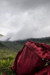 Damned midges - the view from my bivvy bag on a Sunday morning by Ffynnon Llugwy, 60 kb