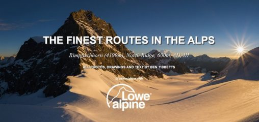 DIGITAL FEATURE: The Finest Routes in the Alps: Rimpfischhorn