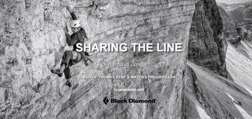 DIGITAL FEATURE: Barbara Zangerl - Sharing the Line