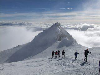 Pointe Burnaby from Bishorn summit.