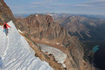 East ridge of Edith Cavell, 161 kb