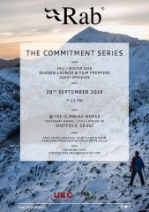 Rab Commitment Series Launch Event THIS THURSDAY, Lectures, market research, commercial notices Premier Post, 1 weeks @ GBP 25p