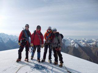 Climbing a new mountain (Peak Oskal) in Kaindy Glacier
