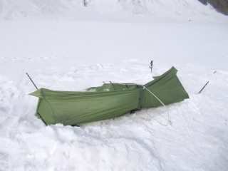 How do you like your tent? Powdered and battered please.