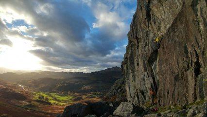 Duddon Valley cragging