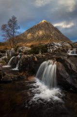 Buachaille Etive Mor  Probably the most photographed mountain in Scotland, but first time by me :)
