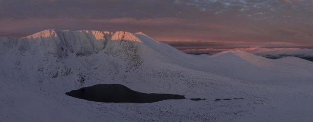 Sunrise on Lochnagar