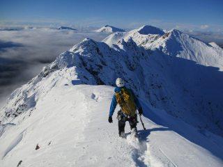 An Alpine Adventure on the Aonach Eagach Traverse - Glencoe, Scotland