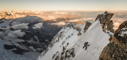DIGITAL FEATURE: The Finest Routes in the Alps - Grand Pilier D'Angle North Face
