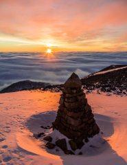 Ben Nevis Sentinel Sunset