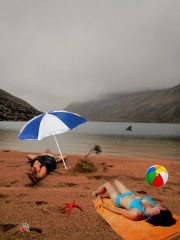 Winter conditions are questionable at Loch A'an this December.