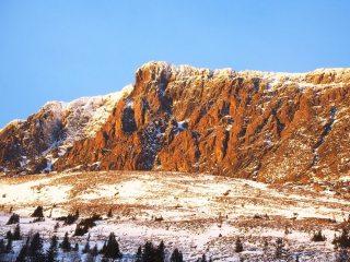Skogshorn Winter Sundown