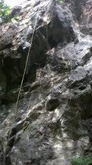 line of rope on Shimmy Sham