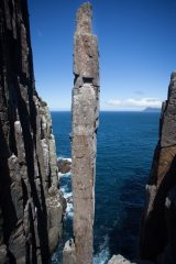 The Totem Pole: quite possibly one of the World's best rock climbing features