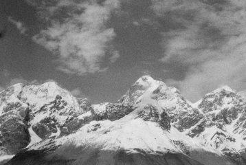 some 5000m peaks on North of Kaindy Glacier
