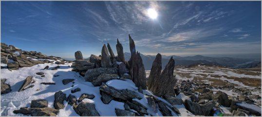 Near summit of Glyder Fawr.