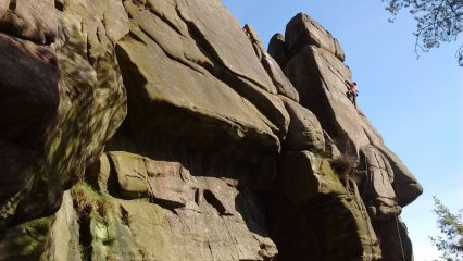 enjoying hawking on a beautiful sunny day at the roaches !
