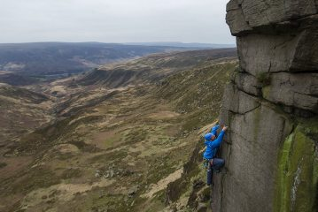 Rob on Tower Arete