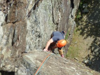 Tony Jones on the first pitch of Fisher's Folly