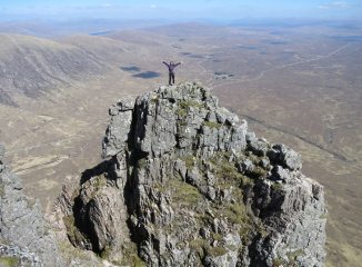 Crowberry Tower and Rannoch Moor, 164 kb